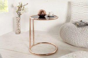 okrągły stolik kawowy